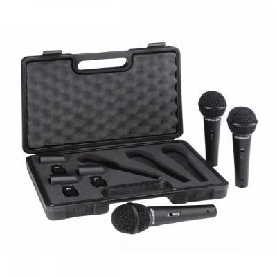 Detalhes do produto Microfone Behringer Xm1800s Kit com 3