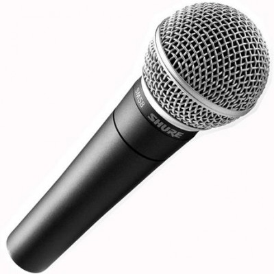 Detalhes do produto Microfone Shure SM58