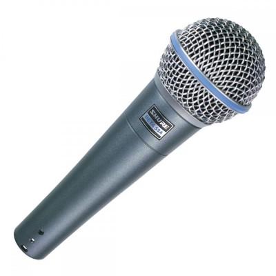 Detalhes do produto Microfone Com Fio Shure BETA 58
