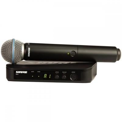 Detalhes do produto Microfone Sem Fio Shure BLX24 beta 58
