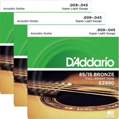 Detalhes do produto Encordoamento D' Addario EZ890