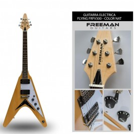 Guitarra Flying V FRV300 Nat Freeman