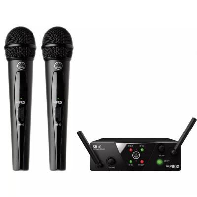Detalhes do produto Microfone Sem Fio Akg Wms Dual Mini