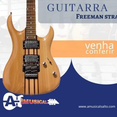 Detalhes do produto Guitarra StratoCaster Freeman LISTRADA