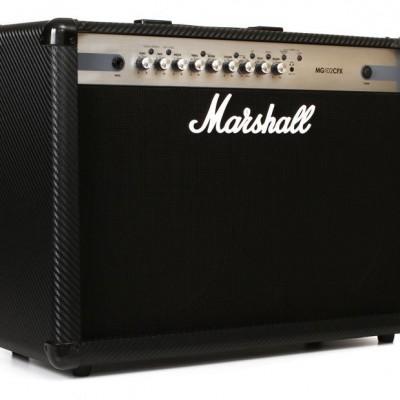 Detalhes do produto Amplificador Cubo de Guitarra MARSHALL mg-50