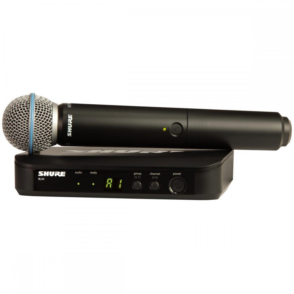 Microfone Sem Fio Shure BLX24 beta 58