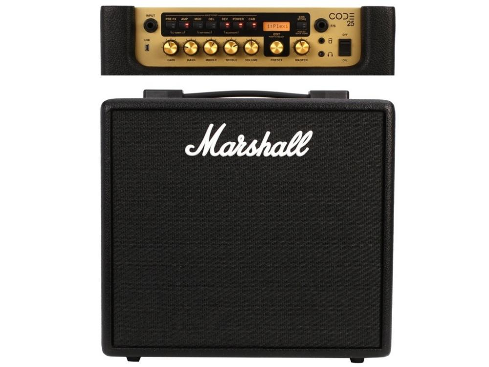 Amplificador Cubo de Guitarra MARSHALL CODE-25